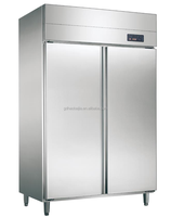 304# commercial freezer & refrigerator True 4Solid Half Doors Reach-In Commercial Refrigerator
