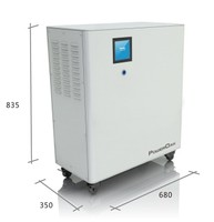 6500Wh 3000W lithium battery uninterruptible power supply w/ MPPT BMS UPS 230v 220v 110V home power system