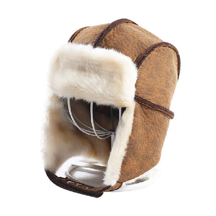 418fd277c9 Get Quotations · -20 Degrees Temperature Unisex Bomber Fur Hat Russian Men s  Winter Hats For Women Thickening Beanies