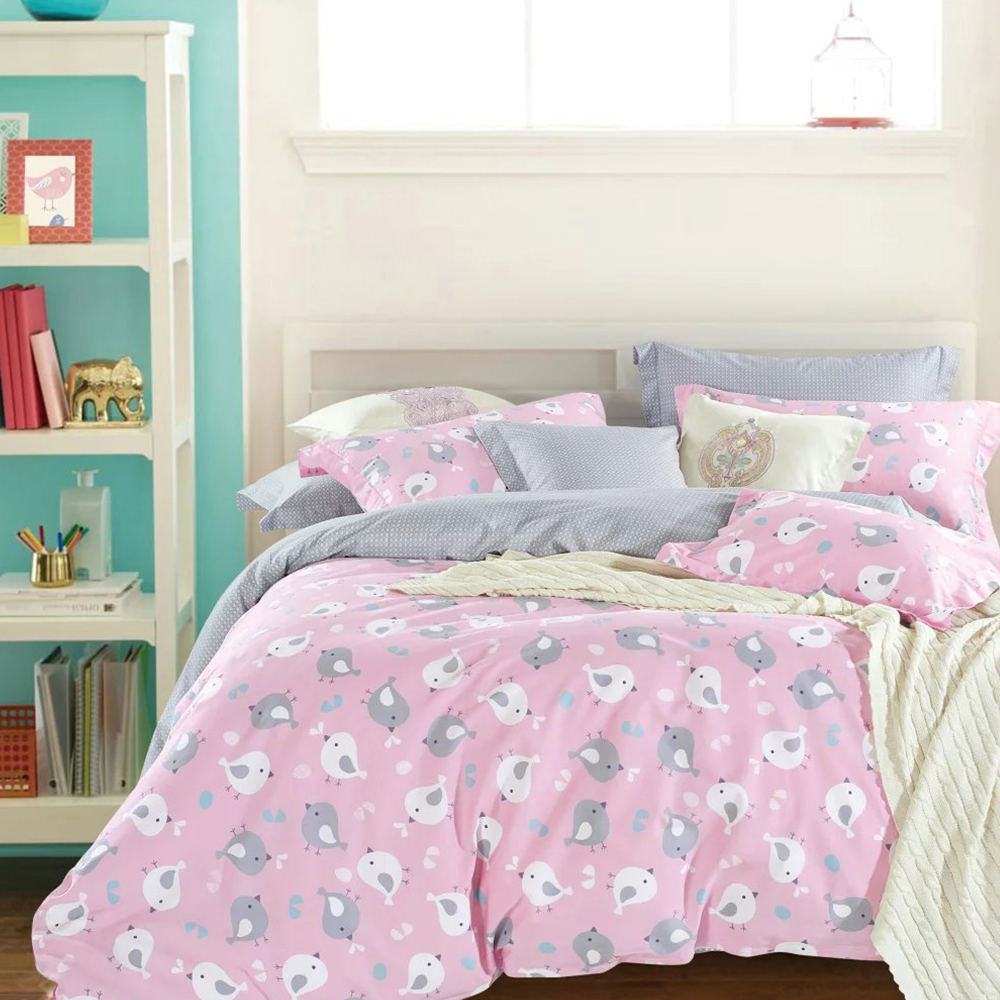 Pink bed sheet design - Bird Print Bed Sheets Bird Print Bed Sheets Suppliers And Manufacturers At Alibaba Com