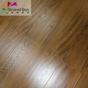 German standard easy click premium laminate flooring Shandong China 8mm 12mm HDF MDF