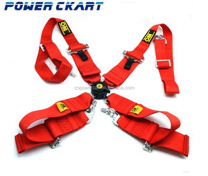 "Universal Racing 3"" 4 POINTS Polyester Car Seat Belt Safety Belt Harness"