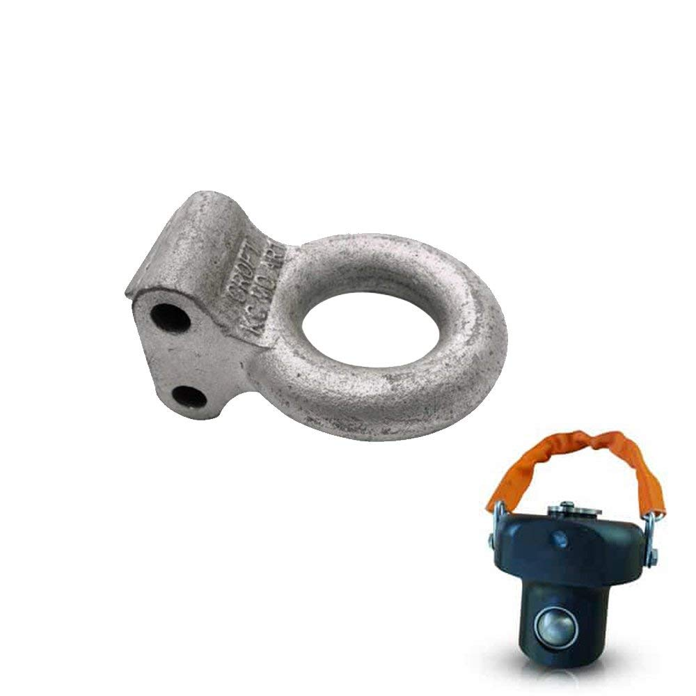 AMPLOCK U-BA3 Trailer Lunette Ring Lock for 3 inches Ring