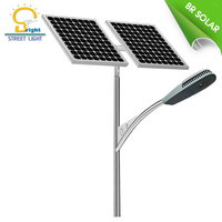 Different watt of high security public 100W solar cell outdoor led street light