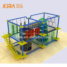 Business Plan Interactive Familar Entertainment Center Adventure Rope Equipment Indoor Baby Obstacle Course