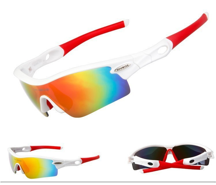 Custom sport sunglasses changeable 5 lens glasses fashion polarized cycling glasses