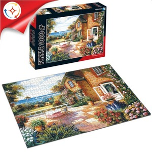 Hot Sale Custom 1000 Pieces Paper Jigsaw Puzzles For Kids And Adult