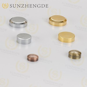 best selling decorative screw covers/metal screw cap/mirror screw caps round screw for mirror