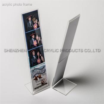Custom Size Clear Acrylic 2x6 Photo Booth Frames Wholesale - Buy 2x6 ...