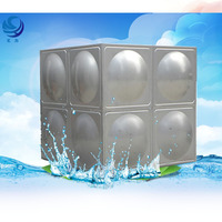 good quality flexible collapsible stainless steel water storage tank