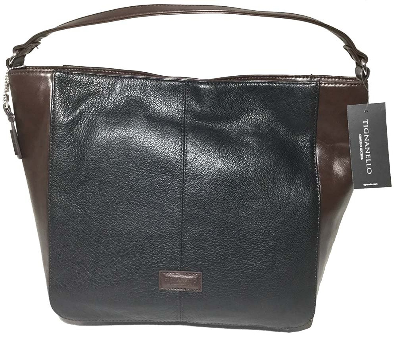 b384f182f6f2 Cheap tignanello hobo bags deals. (420441 results). Tignanello Western Hobo  Black Brown T58310A