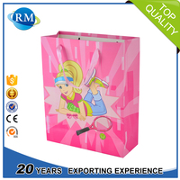 China wholesale decorative fashion kraft paper shopping bags for gift package