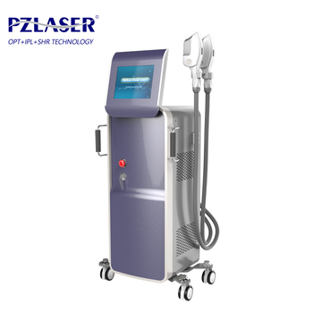 Best pigment acne marks removal Super IPL SHR with 3000W 4 capacitors for hair removal and skin rejuvenation PZ 106