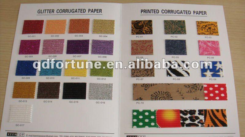 Vari tipi di carta ondulata arte e collezionismo id - I diversi tipi di carta ...