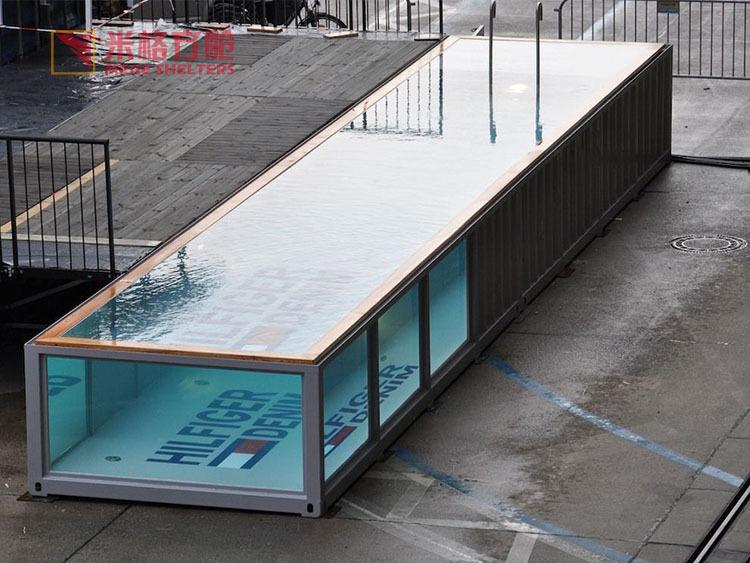 Portable contenant captain bar de la piscine maisons pr fabriqu es id de produit 60166155586 - Piscine container ...