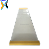 HDPE shooting pad practice hockey slide board