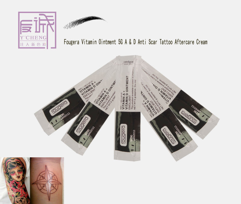 Fougera Vitamin Ointment 5g A&d Anti Scar Tattoo Repair Cream ...
