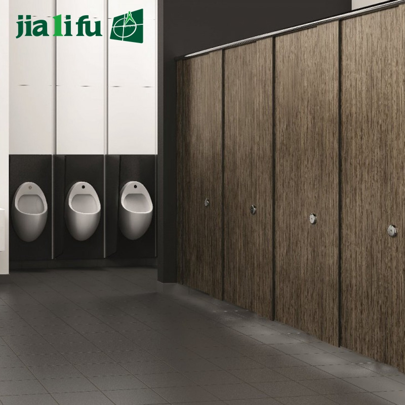 Cheap price 12 mm hpl board wood toilet partition