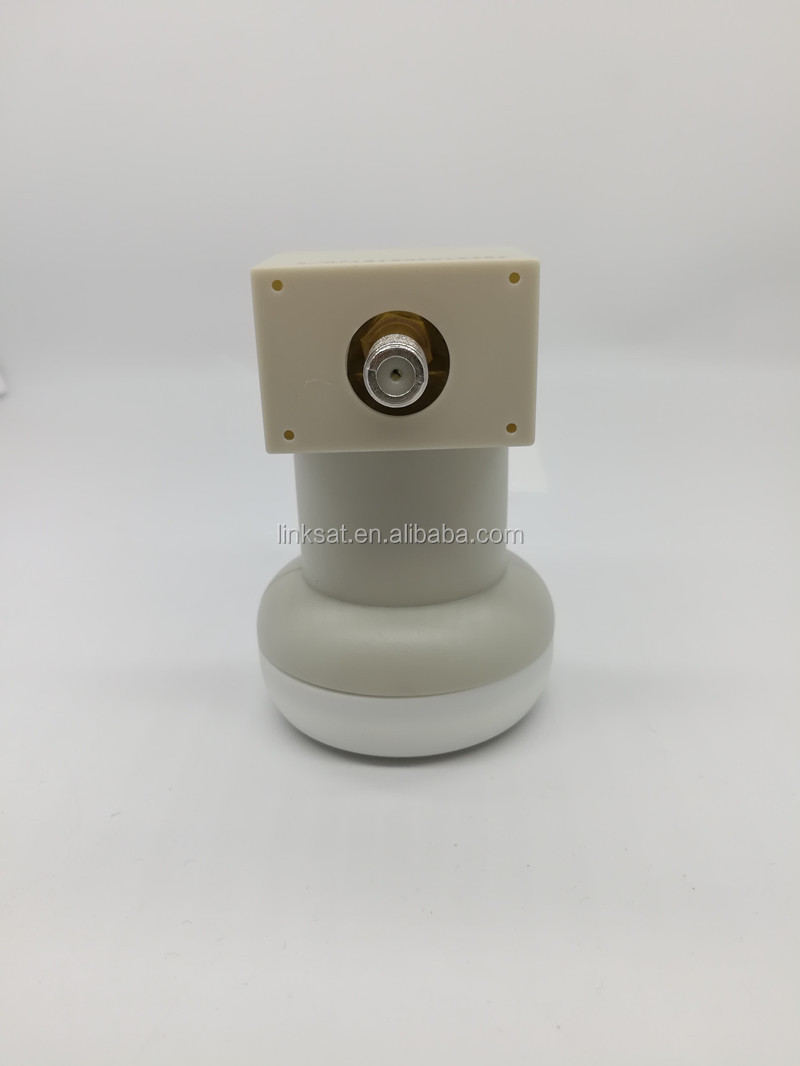 Ku bande simple lnb 3 cercles HD 1080 à faible bruit de haute qualité universel