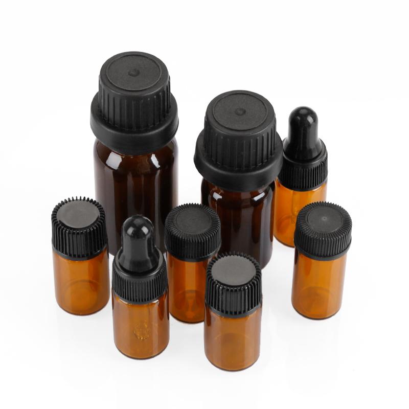 Essential Oil Roller Bottles Amber Color Glass Bottle With Roller Balls