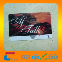 Accept custom order/plastic pvc high grade company business gift card/Alibaba Shenzhen China manufacturer