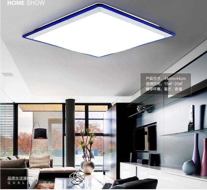 Modern Ceiling Light Kitchen: Free Ship Acrylic LED Ceiling Lamp Living Room Modern