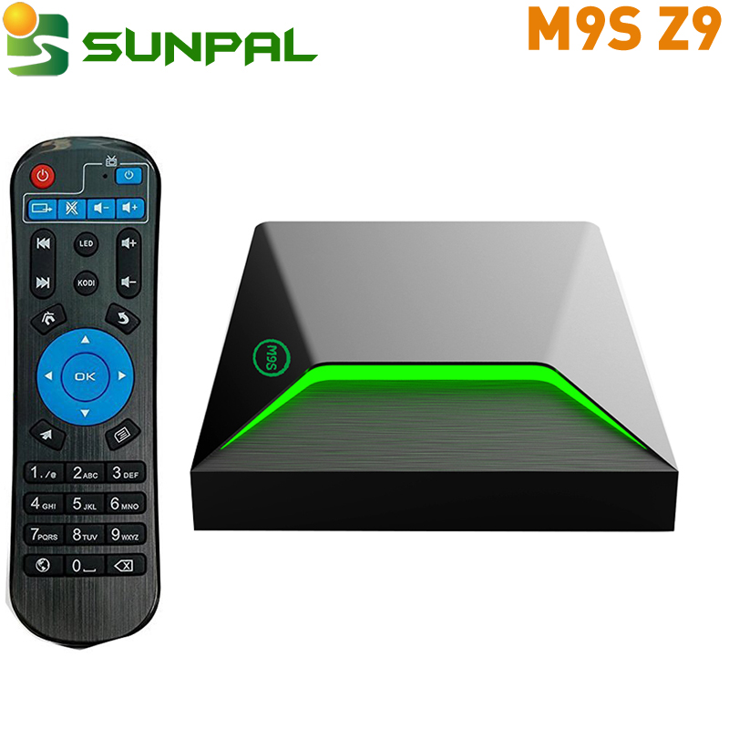 m9s z9 set top box android tv box with ir remote control 2g 16g on sale S912 Octa-core