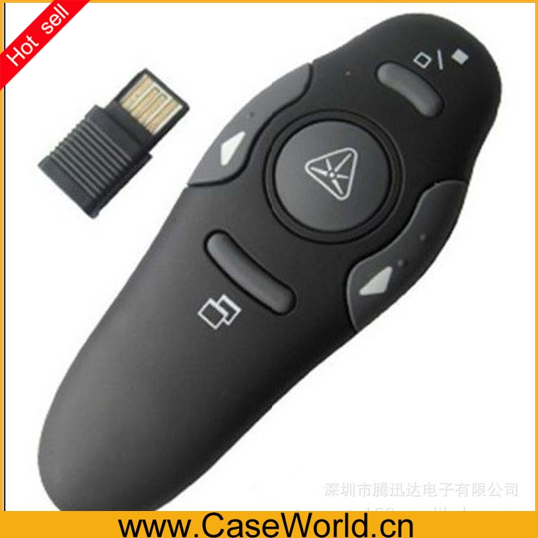 RF 2.4GHz Wireless USB PowerPoint PPT Presentation Presenter Mouse Remote Control Laser Pointer Pen