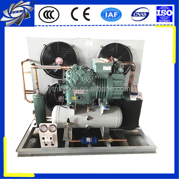 Bitzer air cooled condensing compressor parallel unit, refrigeration condensing compressor unit