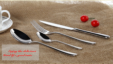 Best selling items acrylic long handle flatware set for italian restaurant
