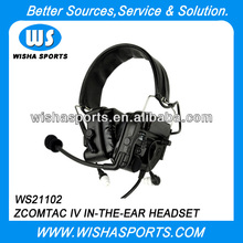 Z-Tático Walkie <span class=keywords><strong>Talkie</strong></span> Wired Headset Militar
