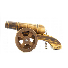 wholesale good quality decorative miniature wooden antique cannon
