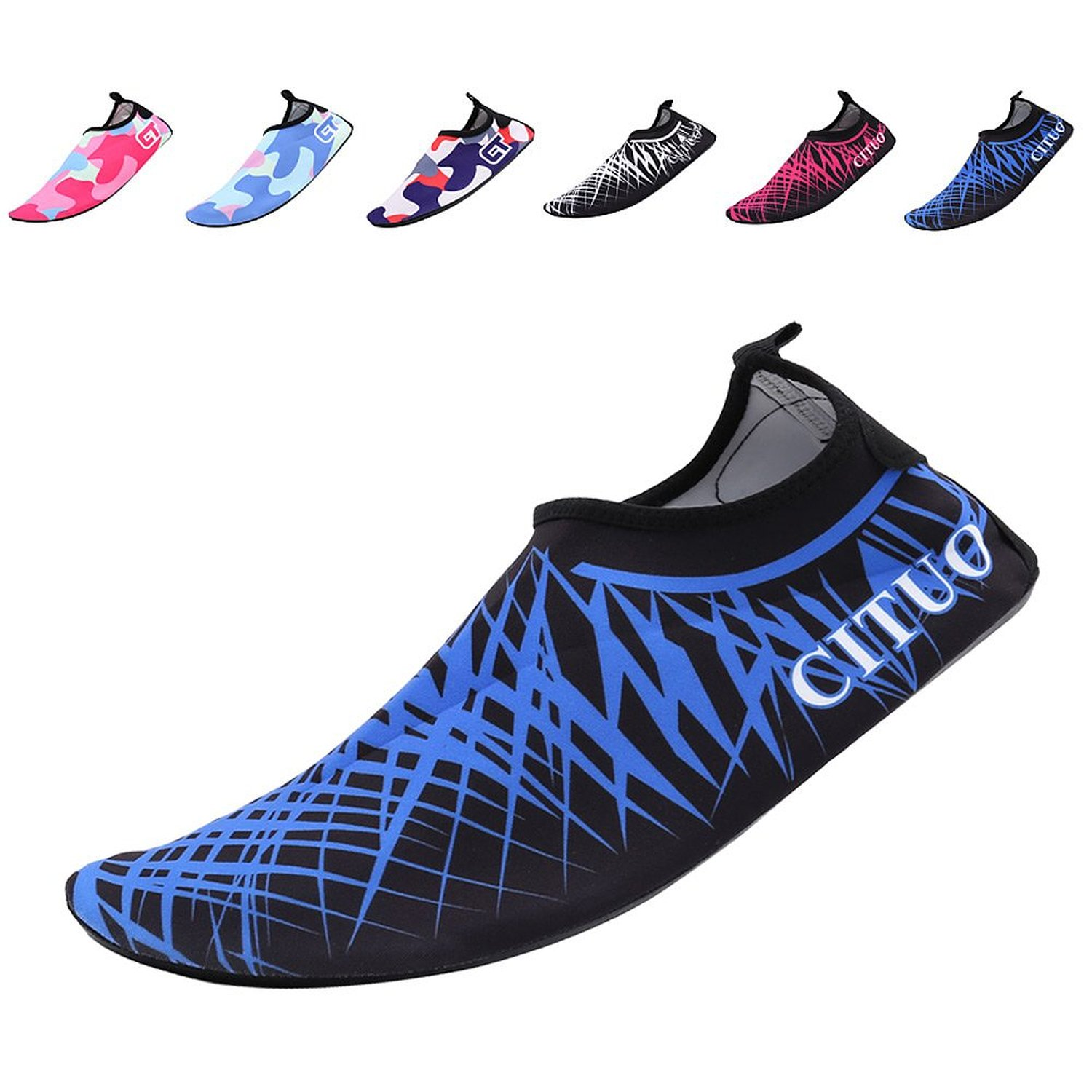 7a1444e2433d CIOR Water Shoes Men and Women Barefoot Skin Aqua Shoesfor Beach Pool Surf  Yoga Exercise