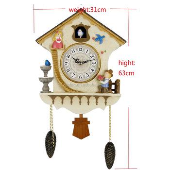 Antique Quartz Cuckoo Clock Movements Cuckoo Wall Clock