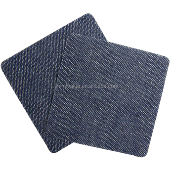 Iron-on Patches Jeans Repair Patchwork For Clothes Stickers Sewing Accessories 10*10cm