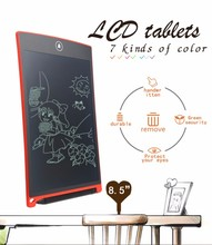 "Wholesale 8.5"" LCD Graphics Writing Tablet Toys Board Kids Handwriting Pad"