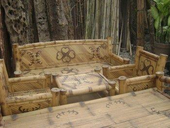 Bamboo Sala Set Furnitures
