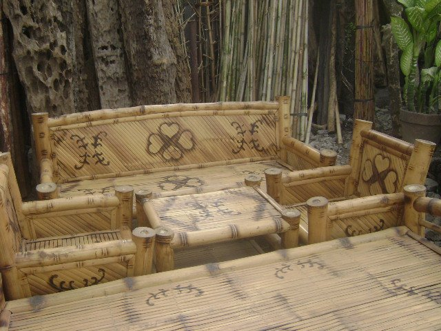 Bamboo sala set for sale in the philippines, bamboo sala set for ...
