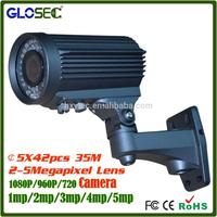 Hot new products hd cctv camera system with 5-50MM lens 300M ir distance ahd camera