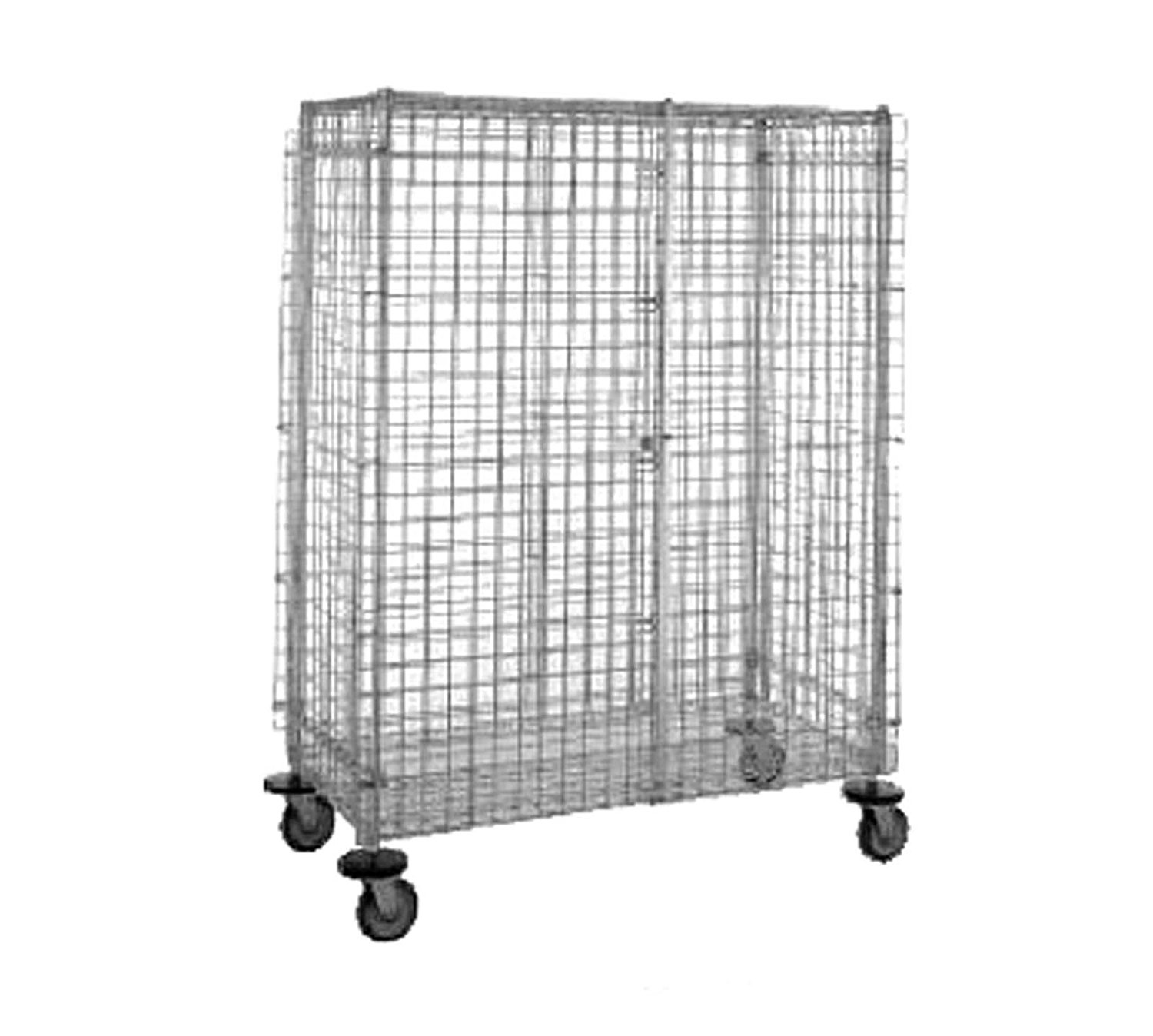 "Metro S/S 27-1/2""W x 52-3/4""L Mobile Security Unit"