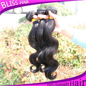 best quality beauty hair body wave weaving cheap indian hair