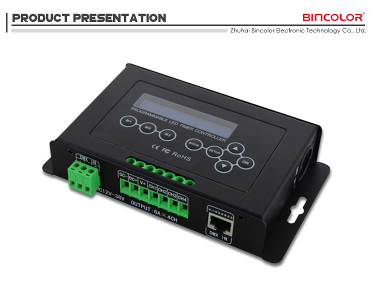 Bc a timer led dimmer regolatore della luce impianto fai da