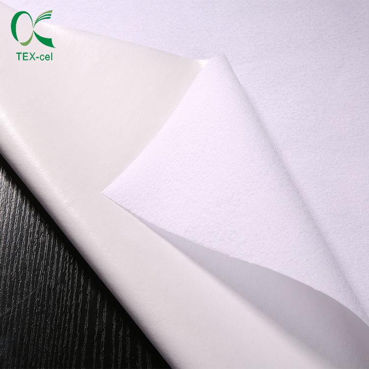 Jersey tricoté stratifié imperméable PUL tissus pour la literie