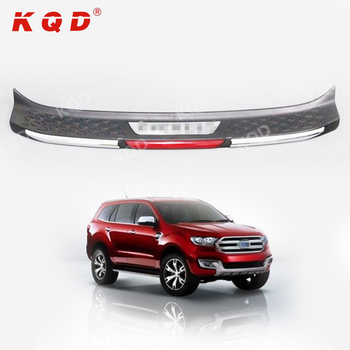 Bumper Guard For Suv >> Suv Accessories Abs Rear Bumper Guard Plate Protector For Ford