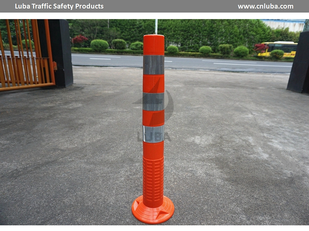 750mm Road Safety Flexible Spring Delineator Post