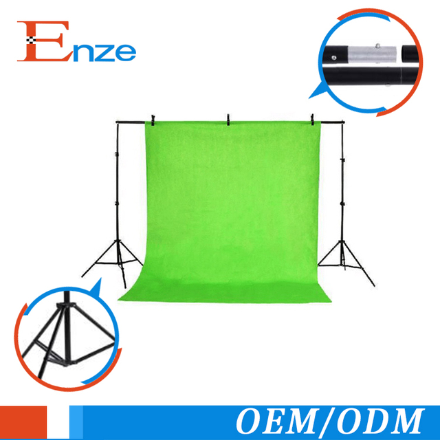 22m adjustable background support stand photo backdrop crossbar kit photography
