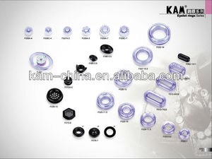 Plastic eyelet for raincoat and bag buckles
