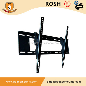 Removable Sliding Vertically Adjustable Safety Lock VESA 400 And 500  Compatible TV Bracket Wall Mount