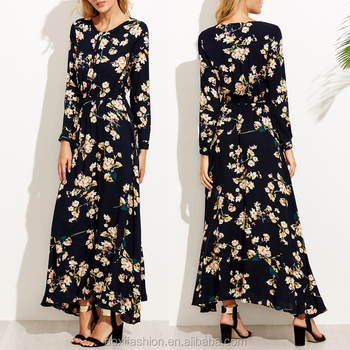 Wholesale India Maxi Dress Plus Size Maxi Dresses Long Sleeves ...