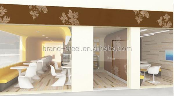 Modulaire stalen en glazen huis prefab huizen product id 1863254636 - Modulaire kamer ...